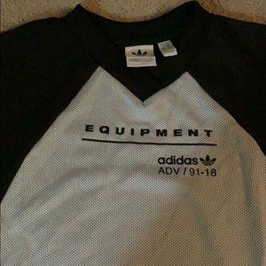 Gray and black adidas dress brand new